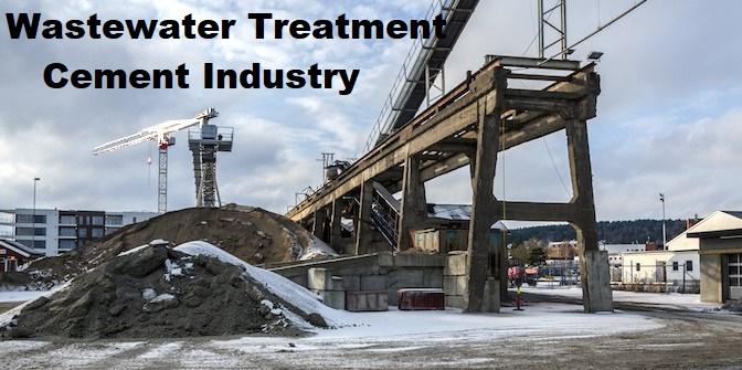Cement manufacturer Water Filter Solution
